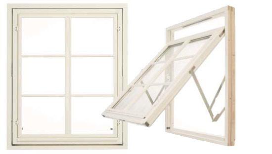 okna skandynawskie - Okna