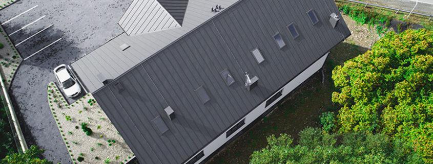 Panele dachowe z rąbkiem stojącym