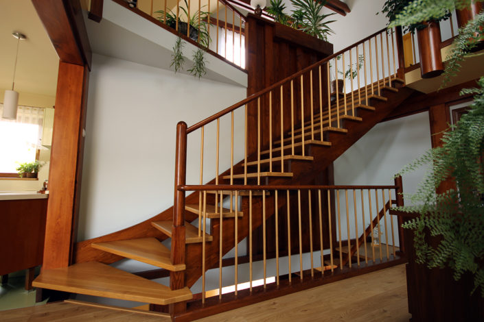 1 2 705x470 - Custom staircases