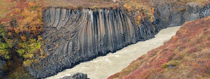 kanion Stuðlagil
