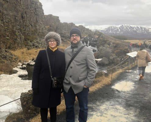 IMG 8619 495x400 - Krajobrazy, gejzery i spotkanie z Ambasadorem, czyli SkandPol w Islandii