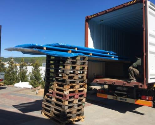 17 2 495x400 - Loading of corrugated sheet metal