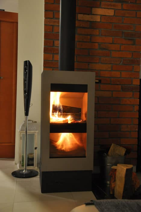 Model Ecogreen 468x705 - Eco-friendly fireplaces for the home - new in the offer