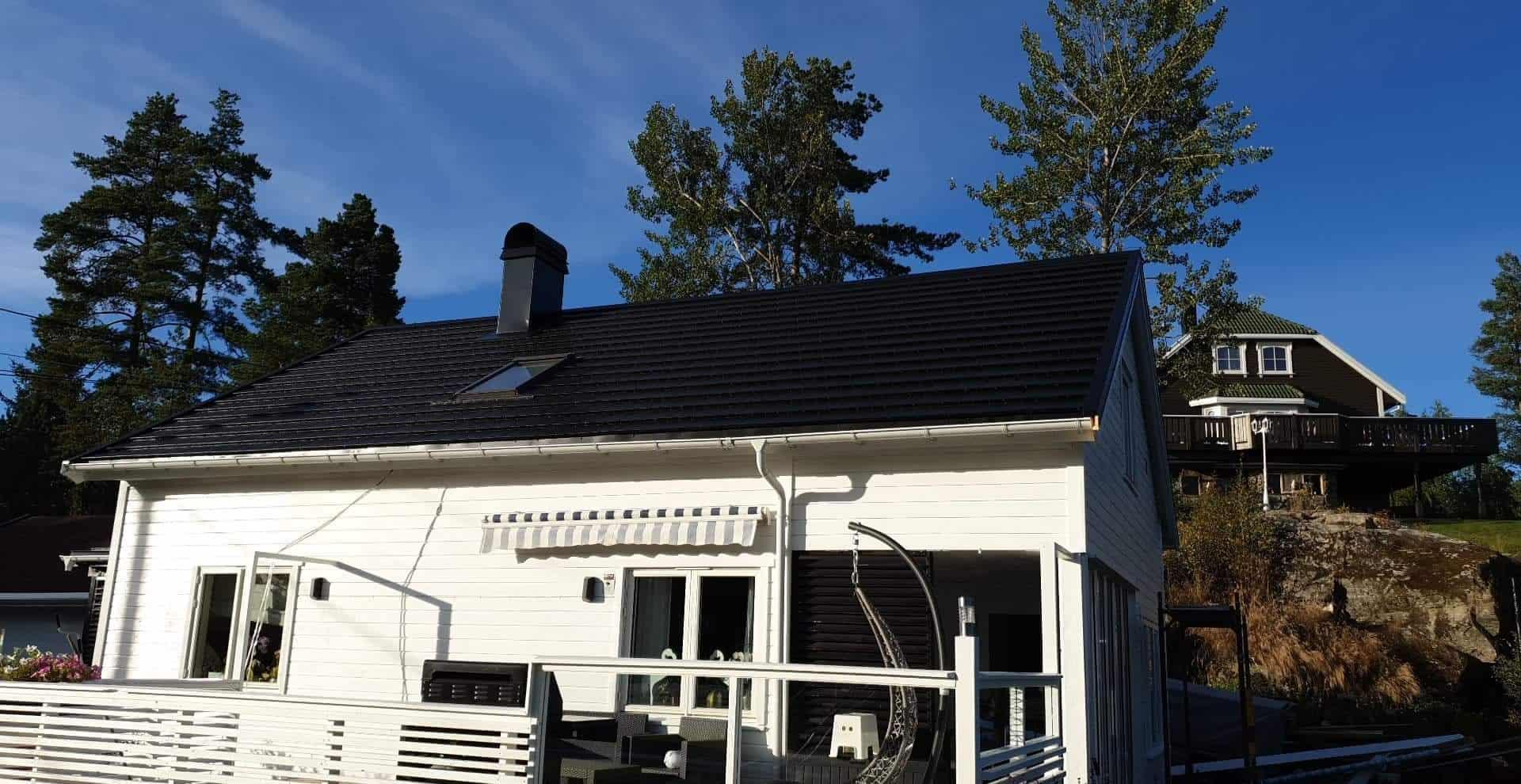 blachodachowka plaska pruszynski - Pruszyński flat roof tile - realization