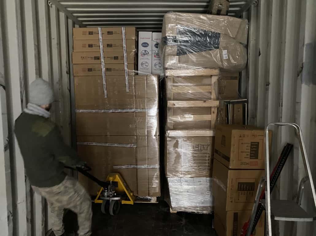 14 1030x772 - Transport of building materials to Reykjavik